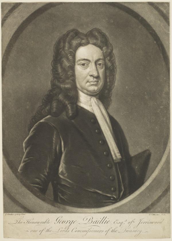Honourable George Baillie of Jerriswood, 1664 - 1738. Parliamentarian (1718 - 1719)