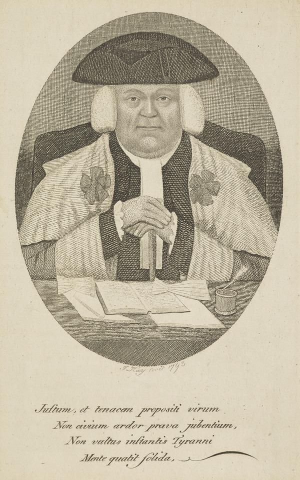 Sir David Dalrymple, 3rd Baronet Dalrymple (Lord Hailes), 1726 - 1792. Scottish judge and historian