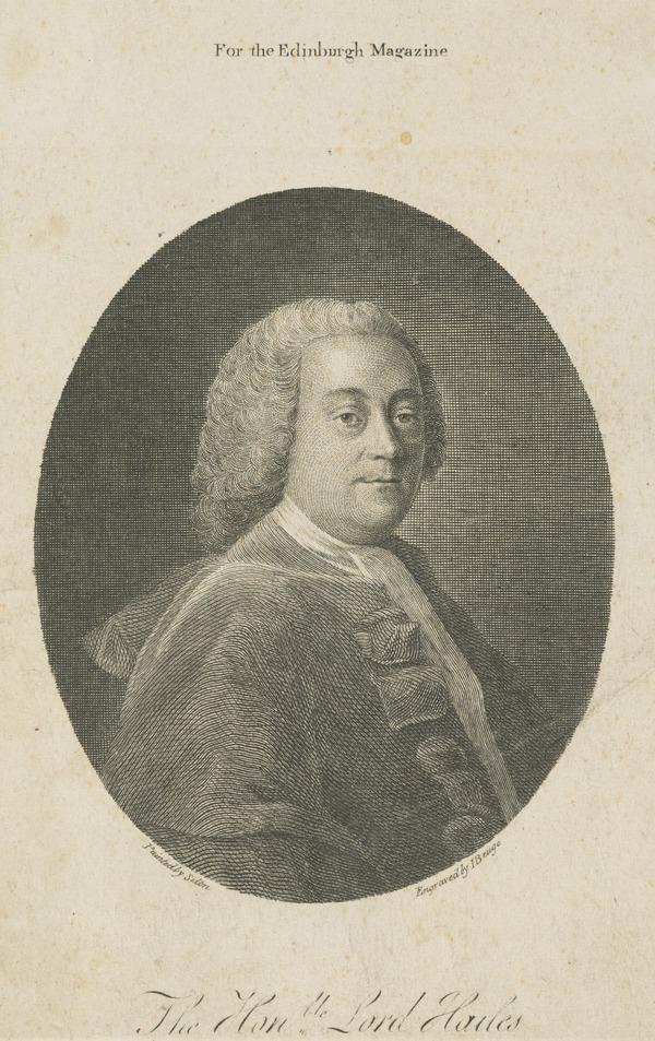 Sir David Dalrymple, 3rd Baronet Dalrymple (Lord Hailes), 1726 - 1792. Scottish judge and historian (1793)