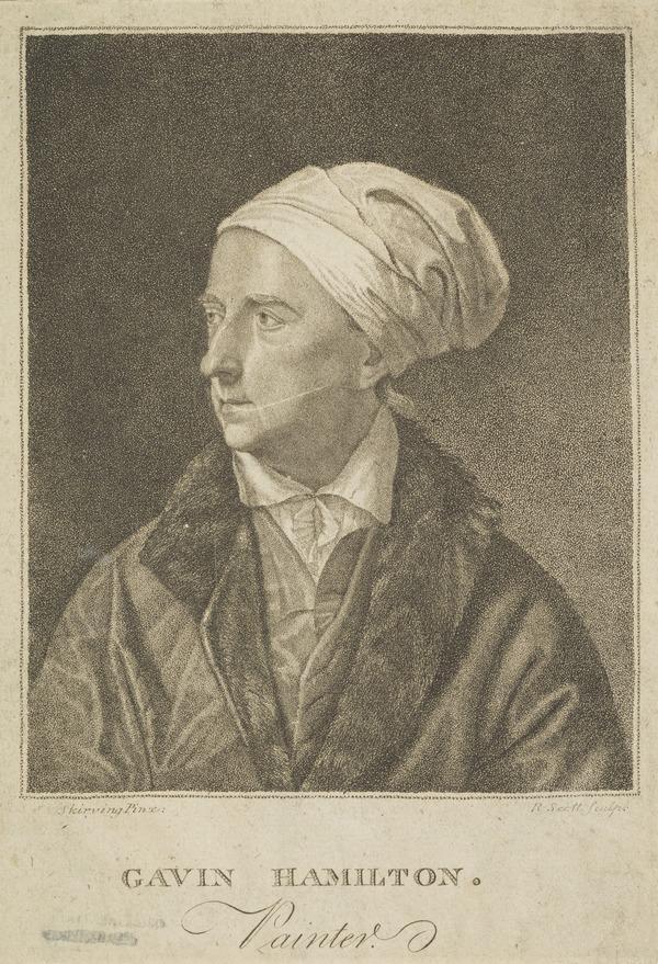 Gavin Hamilton, 1723 - 1798. Artist (Published 1793)
