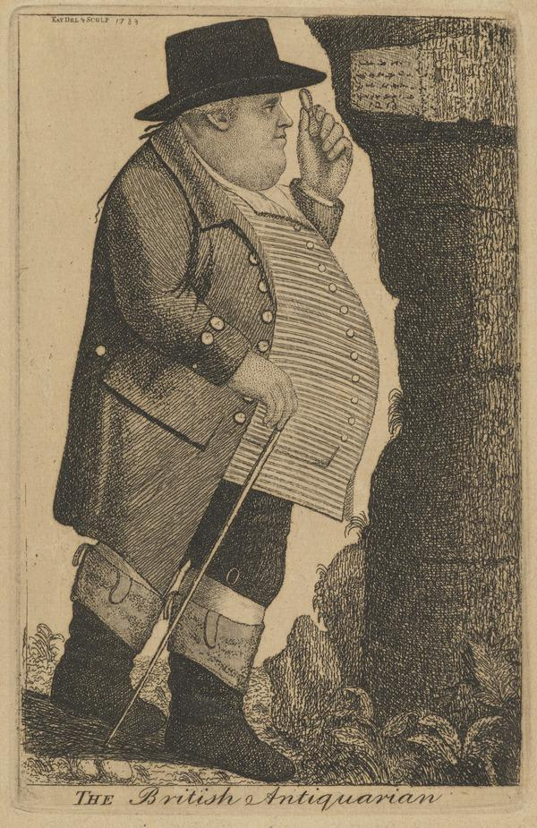 Captain Francis Grose, 1731 - 1791. Antiquary