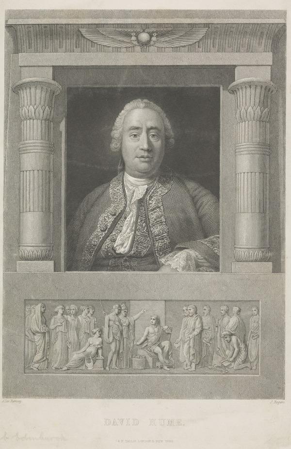 David Hume, 1711 - 1776. Historian and philosopher