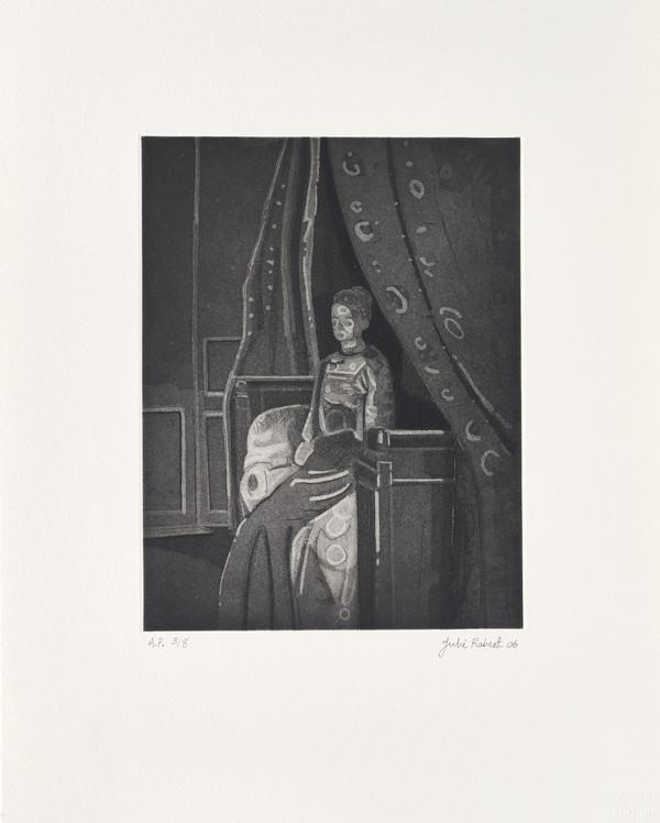 Woman Seated on a Bed, Dieppe (from Sickert's Shadow Portfolio) (2006)
