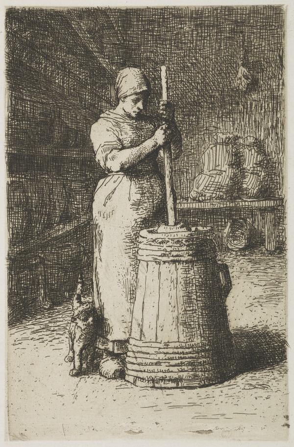 La Barratteuse (1855)