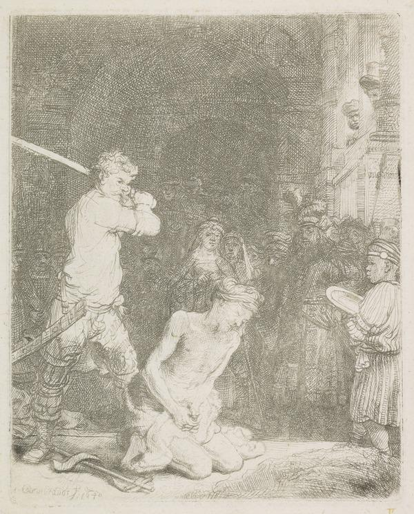 The Beheading of St. John the Baptist (1640)