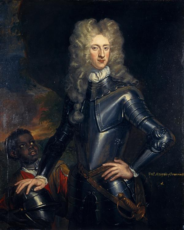 James Drummond, 2nd titular Duke of Perth, 1673 - 1720. Jacobite (About 1700)