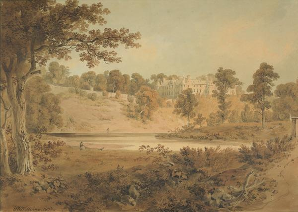 View of Brechin Castle, Angus (Dated 1803)