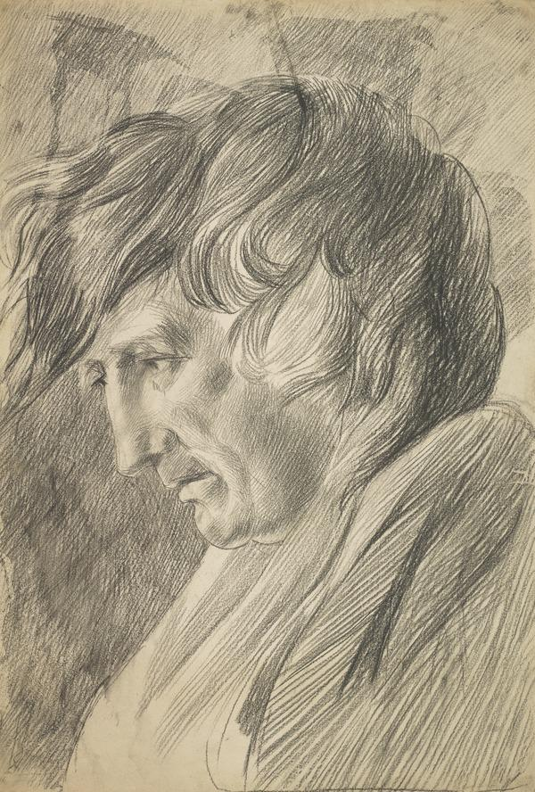 The Head of a Man Drawn from the Life (1700 - 1799)