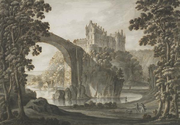 Cullen Castle, Banffshire (About 1770 - 1780)