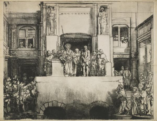 Christ Presented to the People ('Ecce Homo') (Dated 1655)