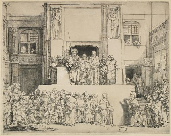 Ecce Homo: Christ Presented to the People (1655)