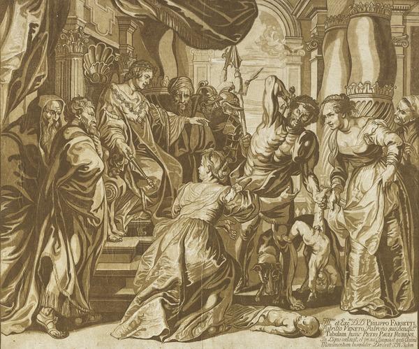 The Judgement of Solomon (1735)
