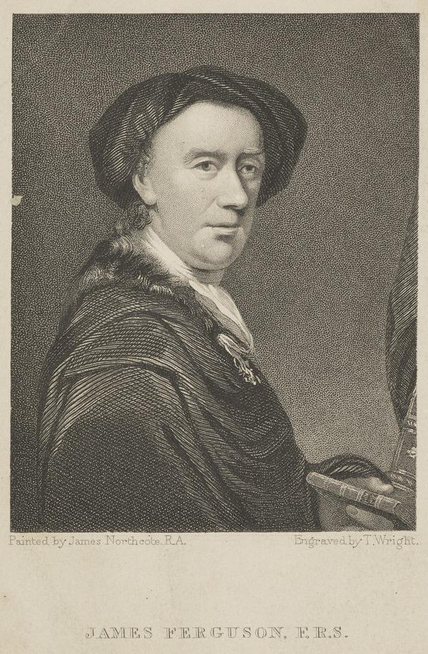 James Ferguson, 1710 - 1776. Mathematician, astronomer and miniature painter
