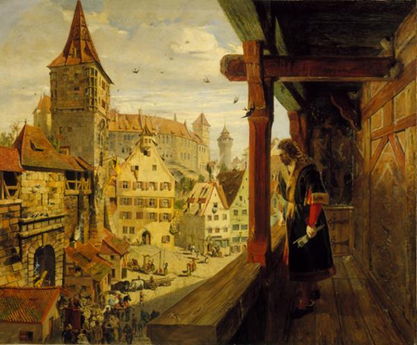 Albrecht Dürer in Nurnberg (Painted 1854)