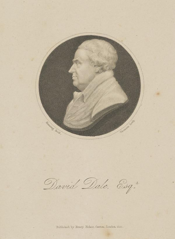 David Dale, 1739 - 1806. Manufacturer and philanthropist (Published 1822)