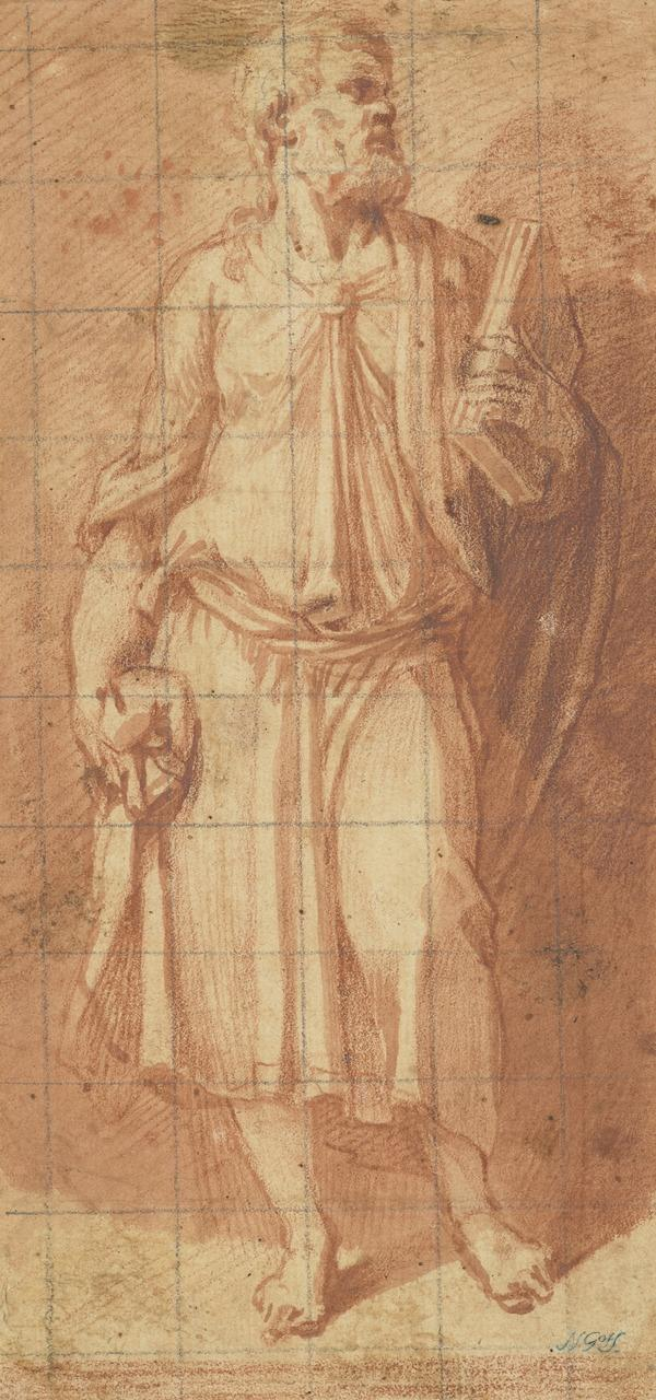 St John the Evangelist (after Jacopo Sansovino) (after 1572)