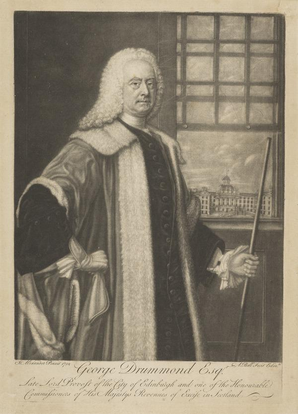 George Drummond, 1687 - 1766. Lord Provost of Edinburgh