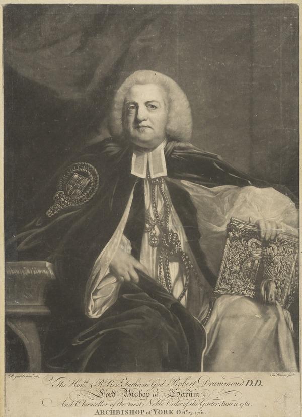 Robert Hay Drummond, 1711 - 1776. Archbishop of York