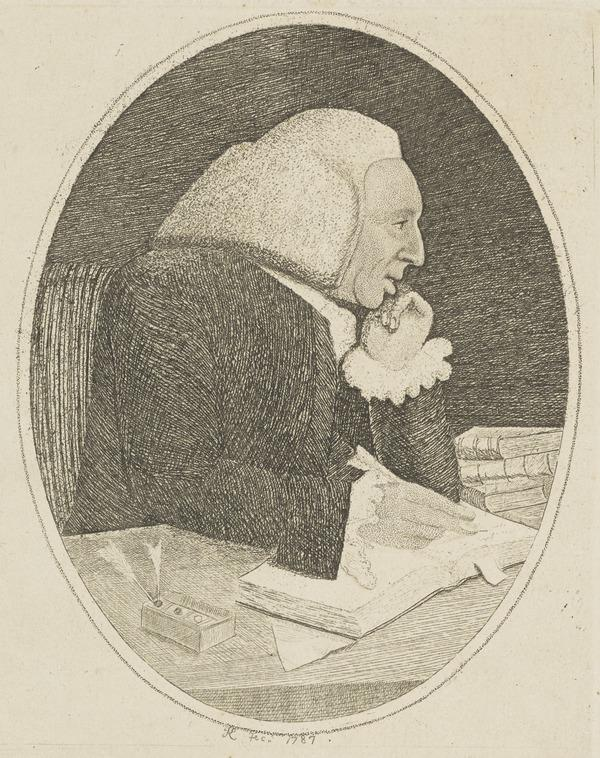 William Cullen, 1710 - 1790. Chemist and physician (1838)