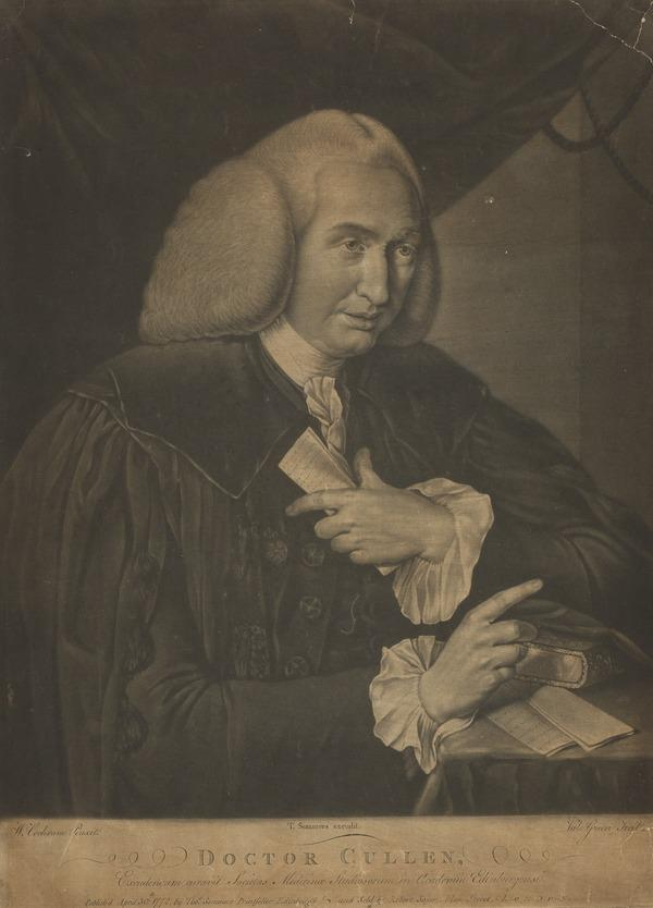 William Cullen, 1710 - 1790. Chemist and physician (Published 1772)