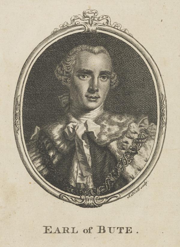 John Stuart, 3rd Earl of Bute, 1713 - 1792. Prime Minister (1757)
