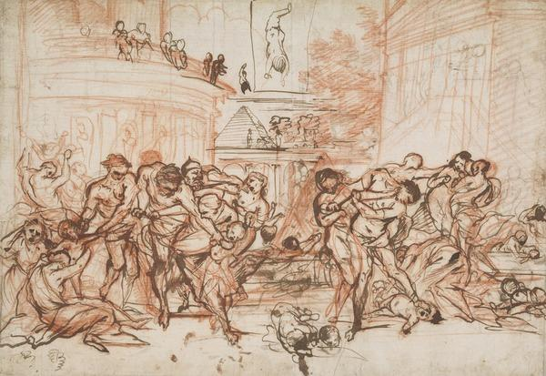 The Massacre of the Innocents [Verso: a similar study]