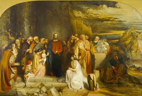 Christ Teacheth Humility (1847)