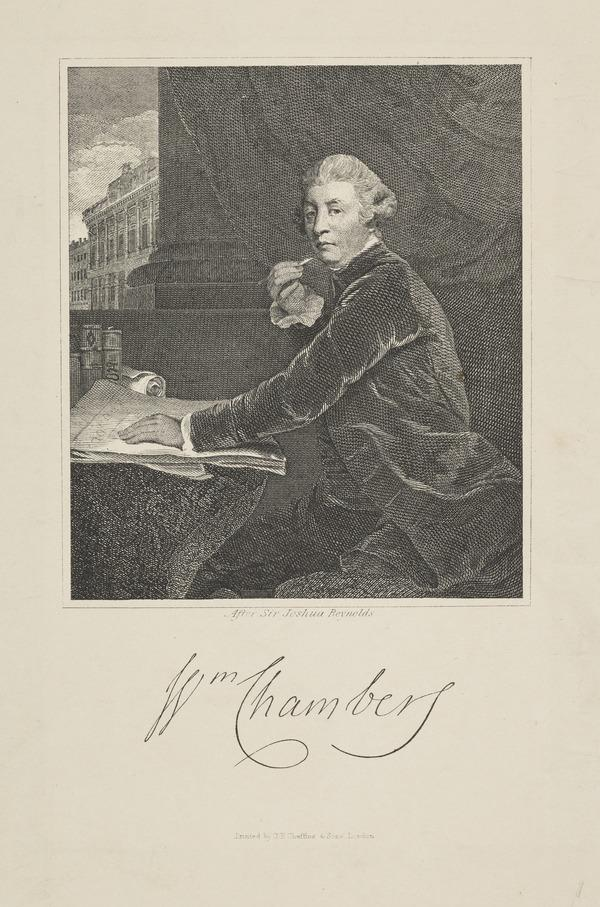 Sir William Chambers, 1726 - 1796. Architect