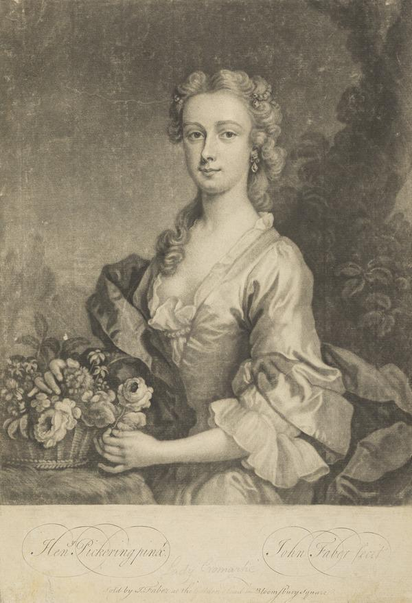 Isabel Gordon, Countess of Cromartie, d. 1769. Wife of the 3rd Earl of Cromartie