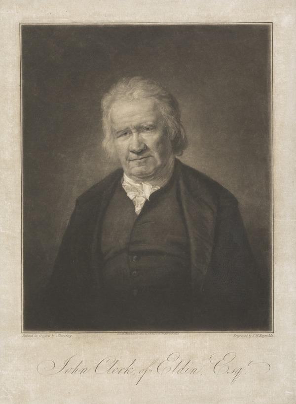 John Clerk of Eldin, 1728 - 1812. Author of Essay on Naval Tactics (1800)