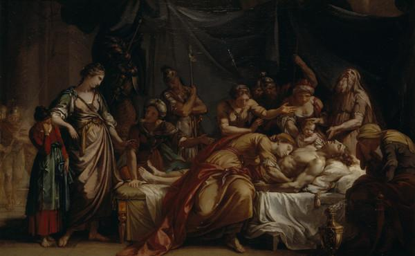 Andromache Bewailing the Death of Hector (About 1759)