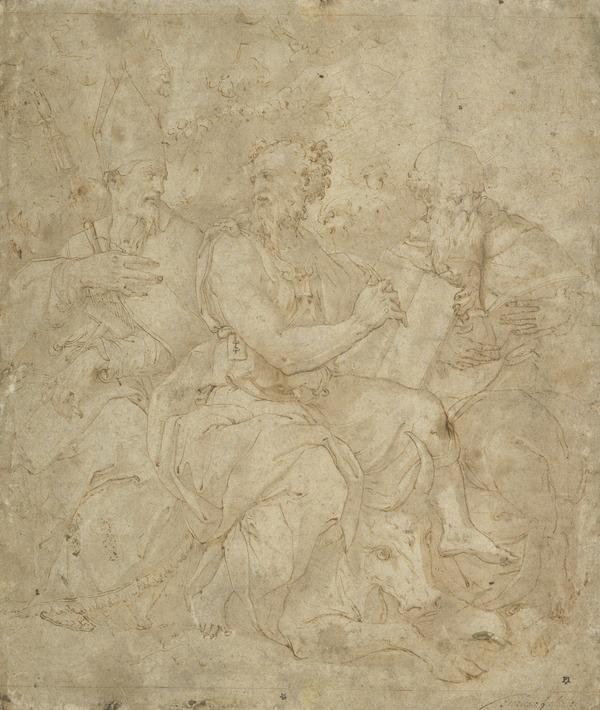 Saints Luke, Blaise and Dominic