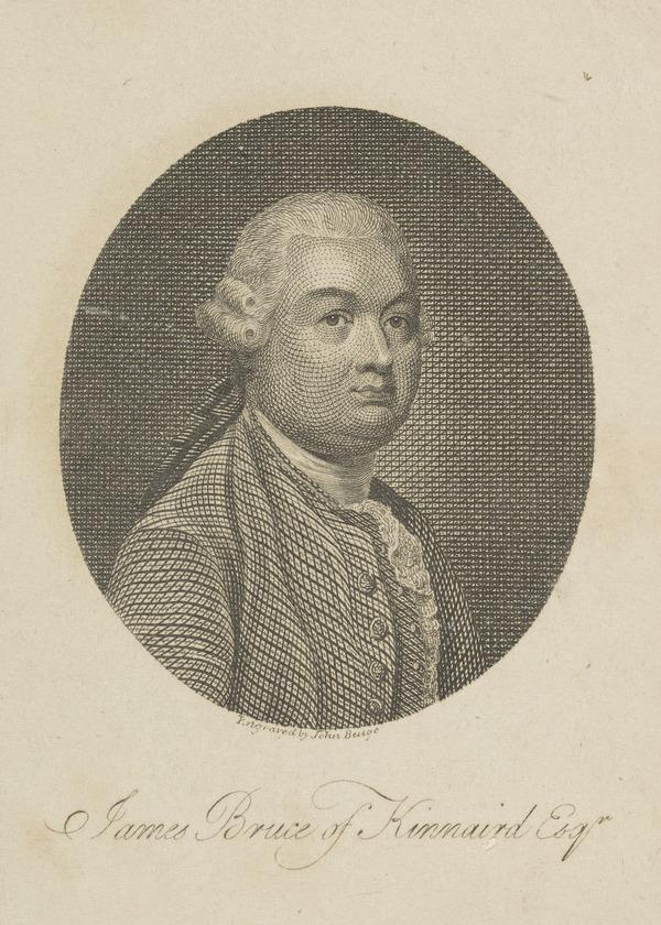James Bruce of Kinnaird, 1730 - 1794. African explorer (1801)
