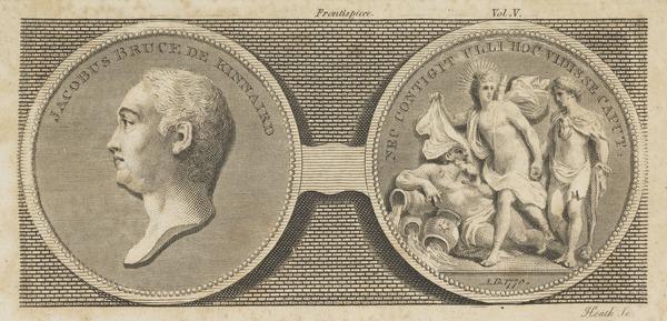 James Bruce of Kinnaird, 1730 - 1794. African explorer