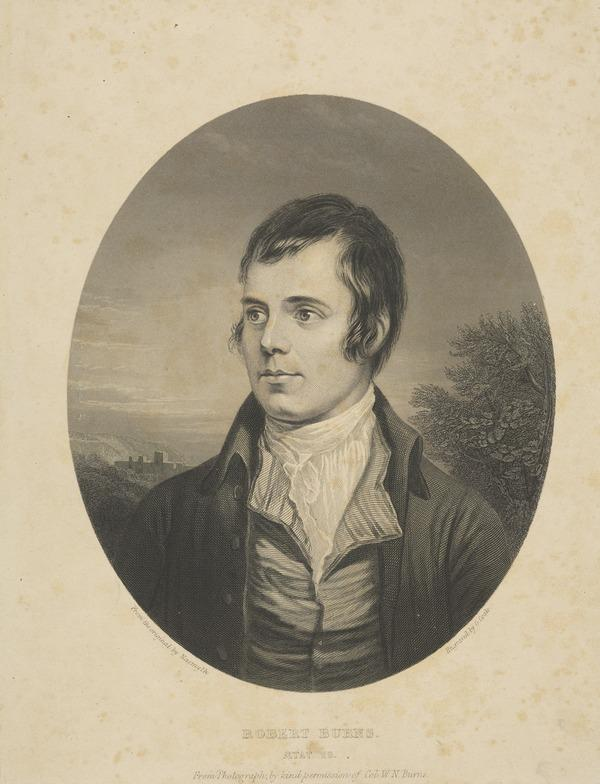 Robert Burns, 1759 - 1796. Poet