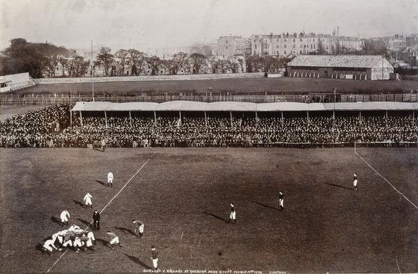 Scotland Versus England at Raeburn Park, Edinburgh (17 March 1894)