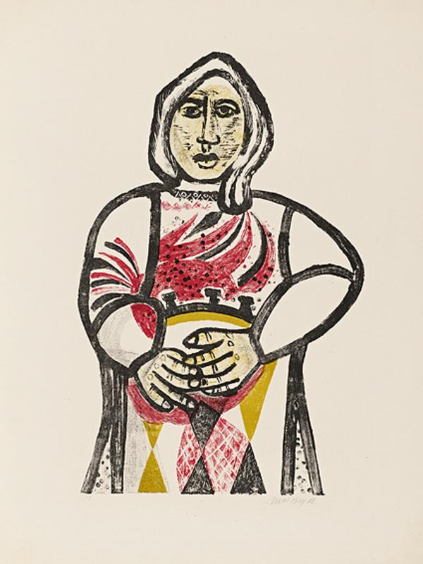 Woman with a Drum (1949)