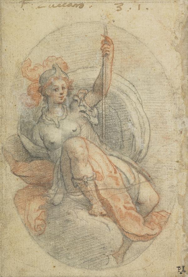 Female Figure in Armour ('Virtus')