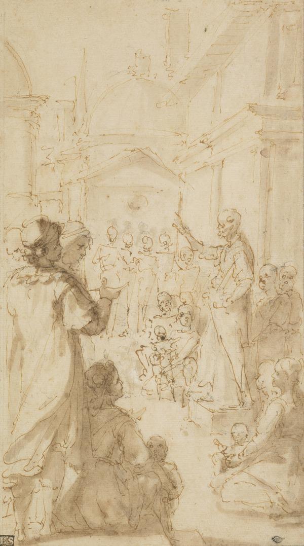 Saint Paul Preaching at Rome