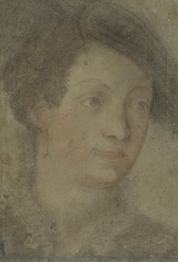 Head of a Lady with a Hat