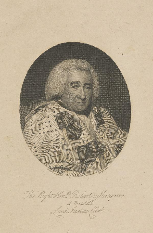 Robert Macqueen, Lord Braxfield, 1722 - 1799. Lord Justice-Clerk