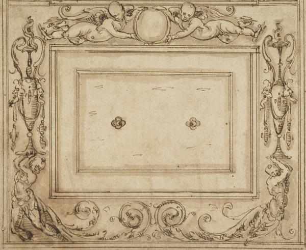 A Decorative Design (Early 16th century)