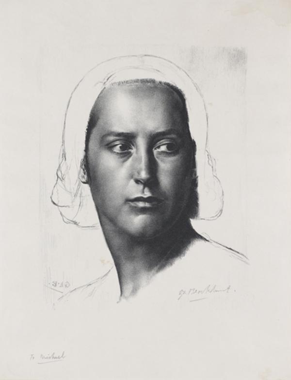 Head of a Girl (Anais) (1944)