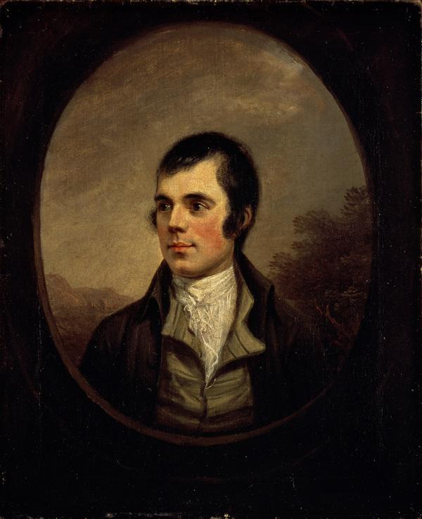Robert Burns, 1759 - 1796. Poet (1787)