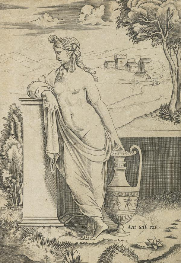 Standing Woman with a Vase