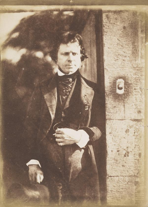 David Octavius Hill, 1802 - 1870. Artist and pioneer photographer [d] (1843 - 1847)