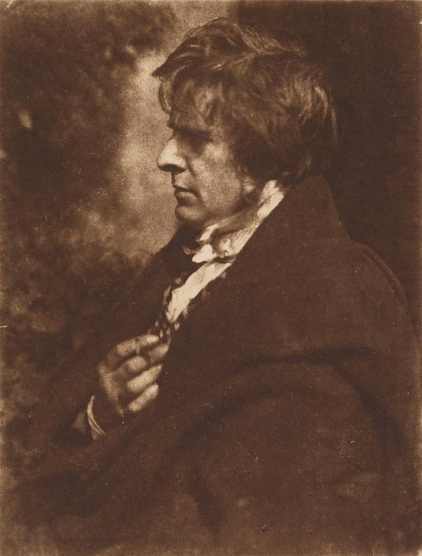 David Octavius Hill, 1802 - 1870. Artist and pioneer photographer (1843 - 1847 (negative))