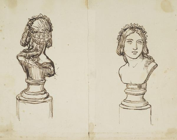 Two Sculpture Busts