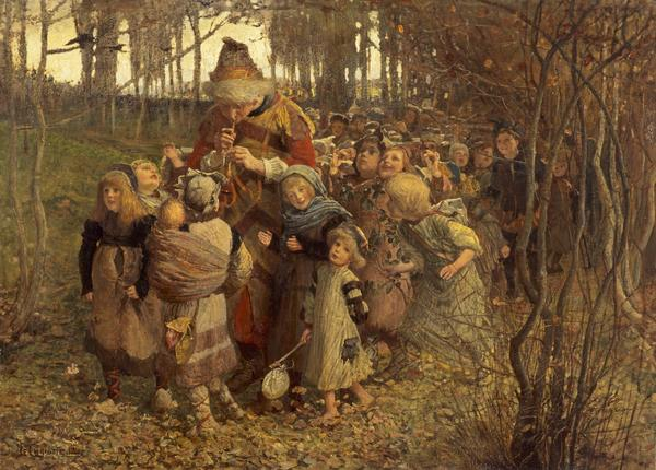 The Pied Piper of Hamelin (Dated 1881)