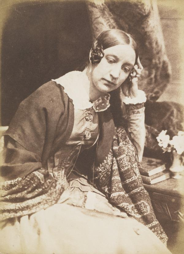 Lady Elizabeth (Rigby) Eastlake, 1809 - 1893. Writer [m] (1843 - 1847)